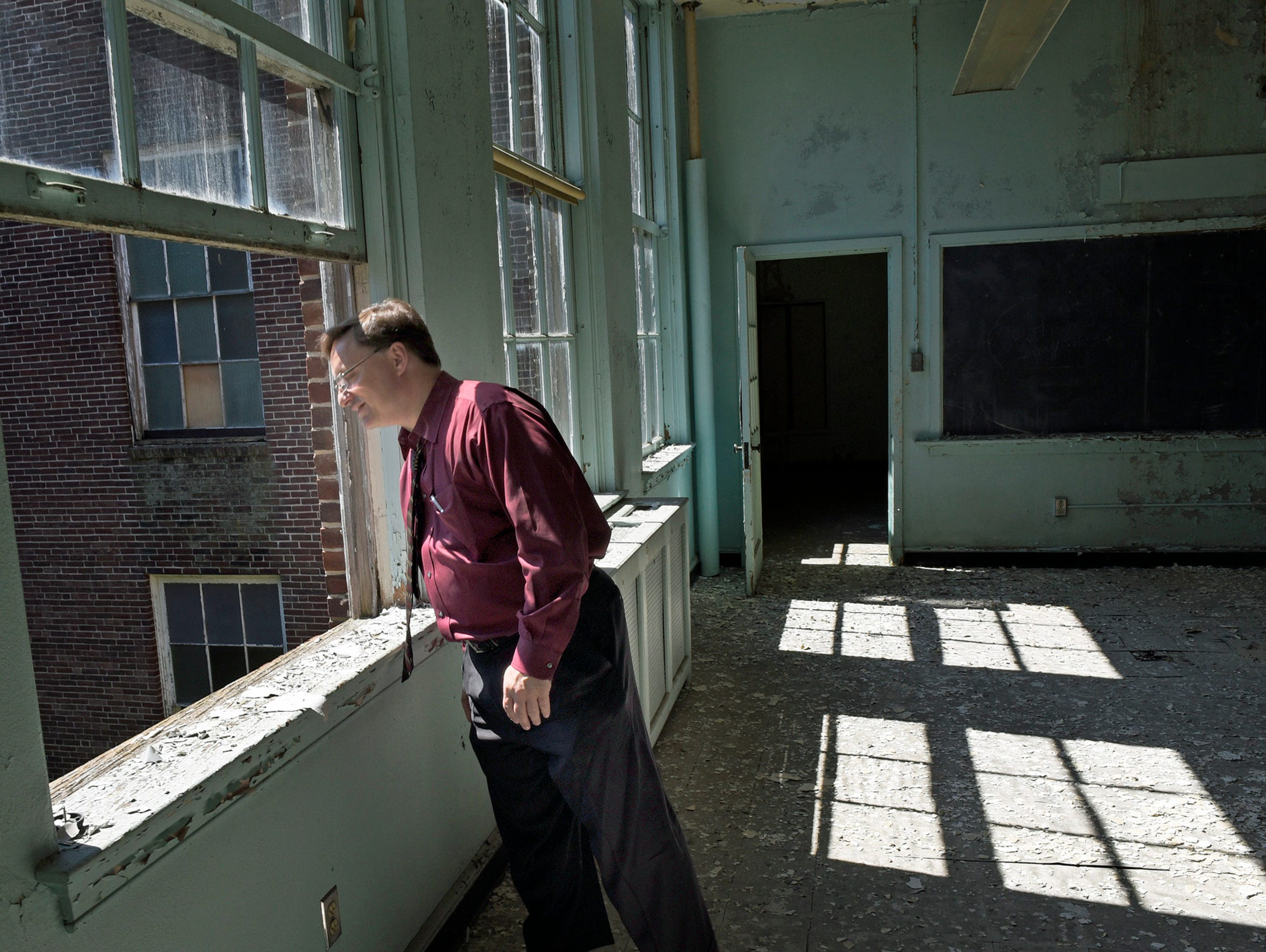 Vern McKissick is planning to turn old classrooms into