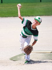 Braxton Liss pitches during the BPA World Series at