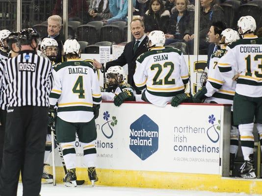 Friendship Four - UMass vs. Vermont Men's Hockey 11/25/16