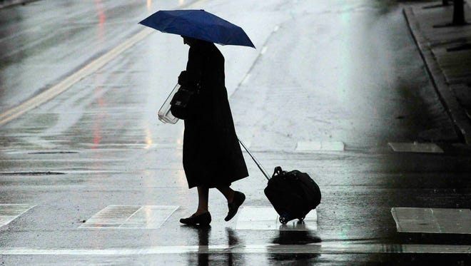 Rain is expected to fall across Middle Tennessee through the week.