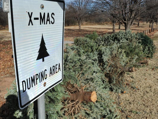 Christmas Tree Drop Off