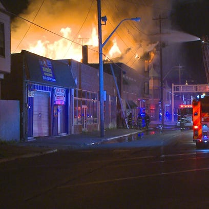 May 23, 2015: Fire broke out in the 9000 block of Lorain