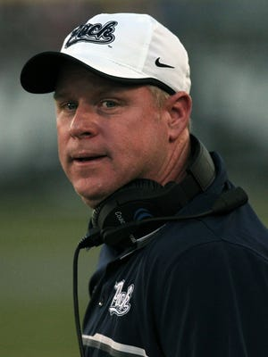 Nevada Wolf Pack head coach Brian Polian.