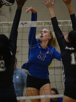 Outside hitter Elizabeth Crisp has helped the Westlake High girls volleyball team open the season 10-0.