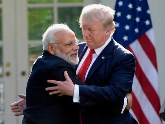 AP TRUMP UNITED STATES INDIA A USA DC