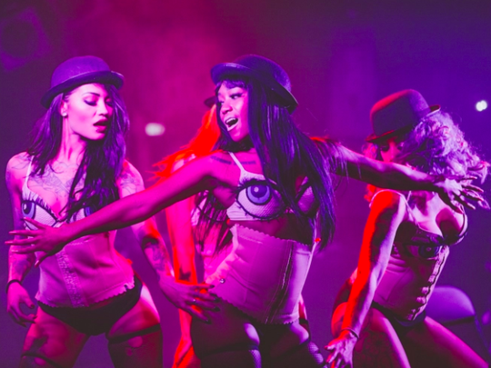 The Suicide Girls will bring their Blackheart Burlesque Tour to the Southwest Florida Performing Arts Center in Bonita Springs at 8 p.m. Tuesday.