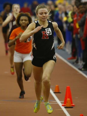 Brianna Gess of Haddonfield  finished second in the Natiar race.