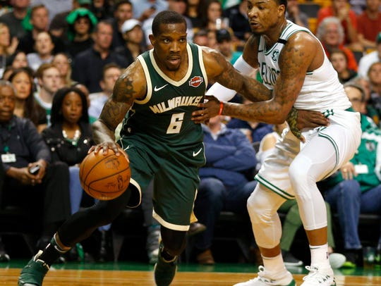 Eric Bledsoe, acquired in a trade that sent Greg Monroe plus a pair of protected draft picks to the Suns, provided the Bucks with a new dimension on both ends of the floor. He did turn the ball over too much, though, and he was prone to suffer mental and physical lapses.