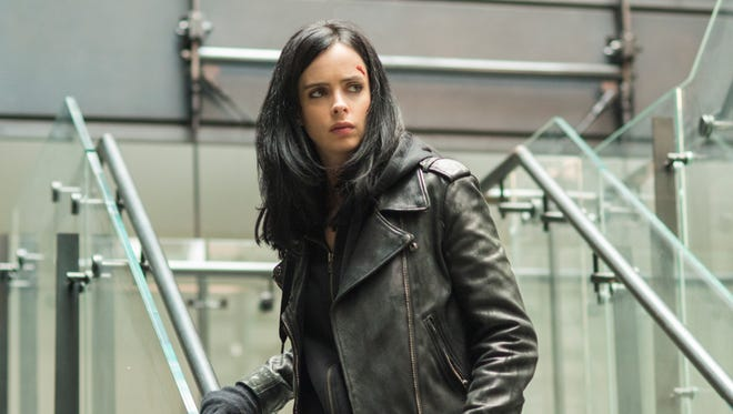We're totally here for another season of Jessica Jones just scowling at sexists.