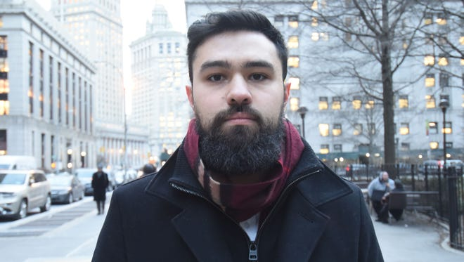 Ahmad Awad of Wayne is the lead plaintiff in a lawsuit against his alma mater, Fordham University, which denied a petition that he and other students submitted to start a pro-Palestinian group on campus.