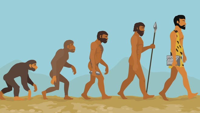 Human evolution from ape to man will be the topic for this year's Darwin Days.