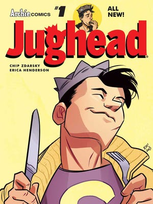 """Archie Comics is serving up a new """"Jughead"""" series beginning Wednesday."""