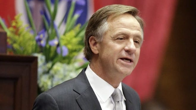 Gov. Bill Haslam believes Republican presidential nominee Donald Trump should step aside and allow vice presidential nominee Mike Pence to lead the GOP national ticket.
