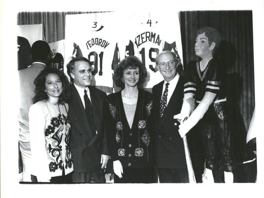Former Red Wings executive vice president Jim Lites,