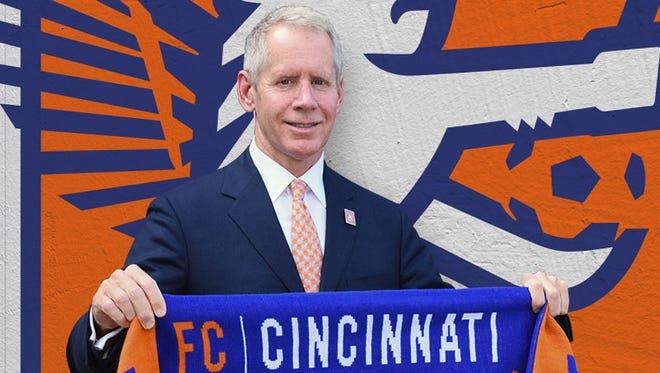 Carl H. Lindner III is an owner and CEO of Futbol Club Cincinnati. Lindner is also co-CEO of Cincinnati-based Fortune 500 company American Financial Group.