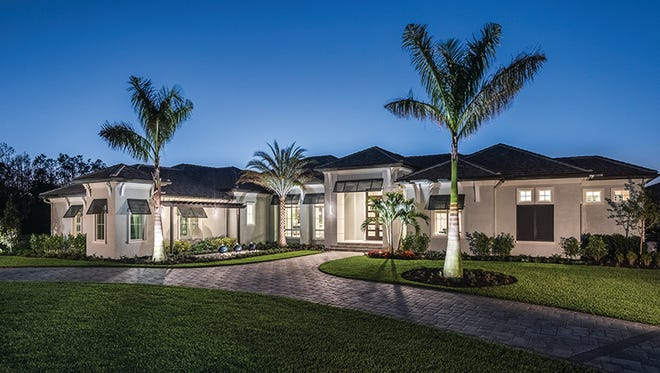 McGarvey Custom Homes' Southampton model (shown) and Beechwood model are available in Quail West.