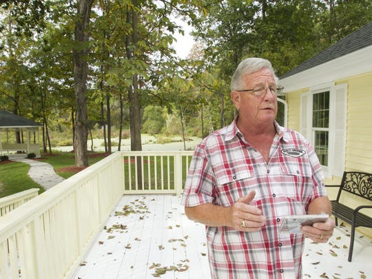 Dennis Dubuc brought Blue Heron Pond assisted living housing in Green Oak Township into being, inspired by the pond on the property where blue herons are found to roost.