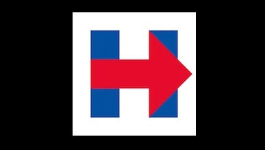 Hillary Clinton's logo could become a font.