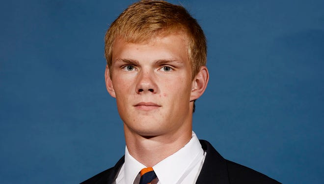 Daniel Carlson was named SEC Freshman of the Week for his performance against Arkansas.
