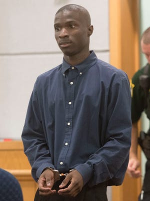 Dontiono Thornton is standing trial this week for the shooting dead of convenience store owner, Phoung Nguyen Troung. Thornton is charged with homicide and robbery of the 50-year-old business man.