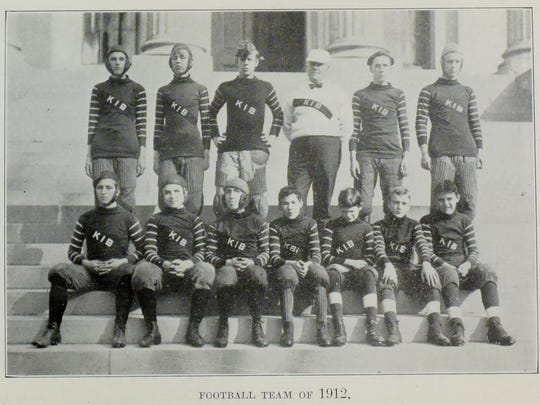 The Kentucky School for the Blind football team in 1912