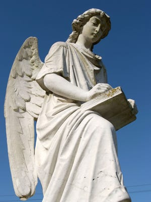 The Turning Angel at Natchez City Cemetery is one of many attractions in the historic Mississippi River town, which turns 300 next year.