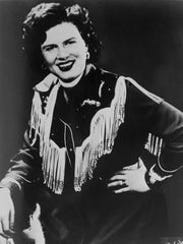 Country singer Patsy Cline was killed in a plane crash