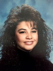 Cristina Hoober is shown in this ninth-grade photo.