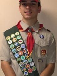 Nick Razzano is an Eagle Scout