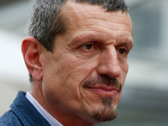 Guenther Steiner, team principle of Haas F1 Team, talks