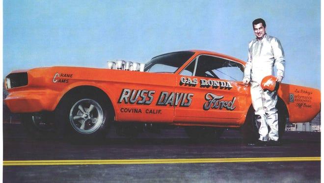 Gas Ronda and his 1966 Mustang Funny Car.