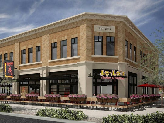 Lo-Lo's Chicken & Waffles will open at the Heritage Marketplace in Downtown Gilbert.
