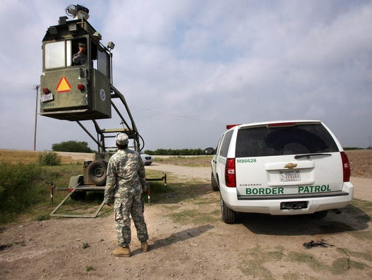 Immigration Overload National Guard