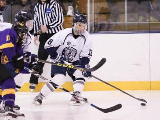 Stephen Collins, Pittsford, has 22 goals, 25 assists