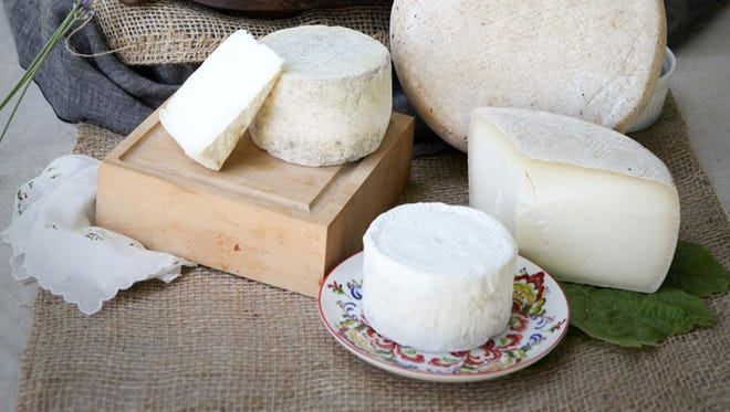 "One of the cheeses from Goldin Artisan Goat Cheese in Molalla, the Chaumine, won a ""Super Gold"" award at the World Cheese Awards."