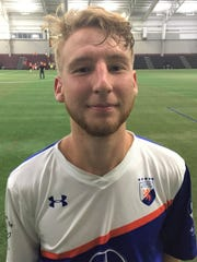 Connor Rutz, who played at Schoolcraft College, is now with the Cincinnati Dutch Lions of the PDL.