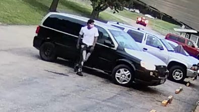 The Freeport Police Department is asking for information on a fatal shooting that happened Wednesday on Galena Avenue. The department released surveillance images of two men wanted for questioning in connection to the killing of a 39-year-old Freeport man on Galena Avenue.