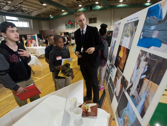 Warrington Middle-Career Fair