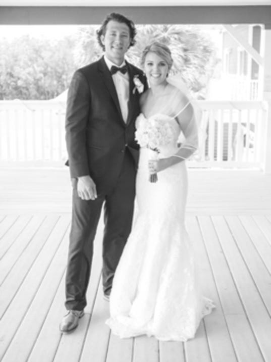 Weddings: JoEllen Tharp & Chip Rhome