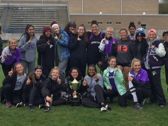 The Lakeview girls team won the SMAC Championships