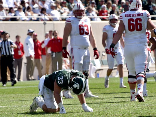 Linebacker Jon Reschke is back on Michigan State's roster.