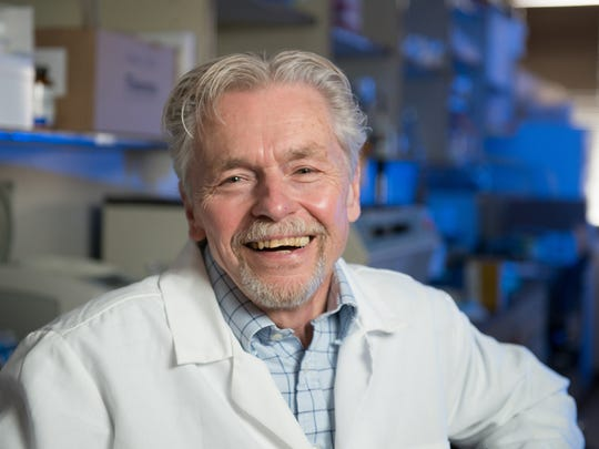 Dr. Edward Hoover, Professor of Microbiology Immunology and Pathology at Colorado State University, has been elected to the National Academy of Sciences. April 29, 2014 CSU Photo: 08041_00938