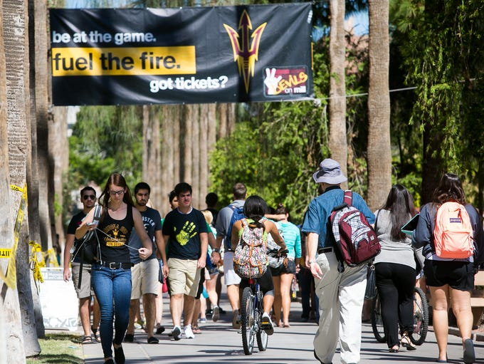 Thousands of Arizona State University students — former