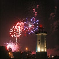 Fourth of July celebration at Lakeside Park in Fond du Lac.