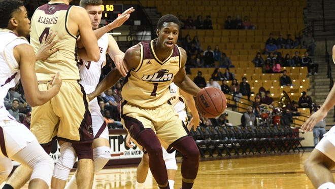 Junior forward Travis Munnings (1), junior guard Wade Martin and senior guard Lance Richard are the lone holdovers from ULM's last postseason bid -- an appearance in the 2016 CIT Tournament.