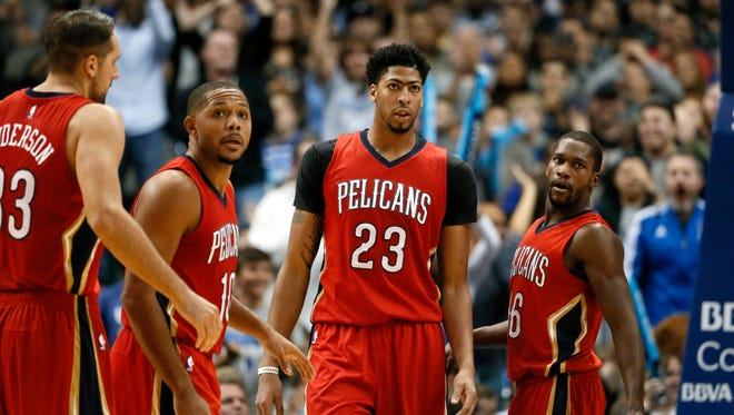 The Pelicans have won four of their last six games.