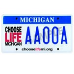 Anti-abortion license plate now only needs Snyder's OK