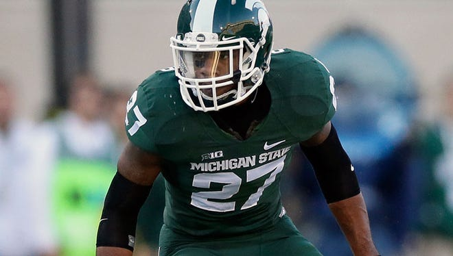 Michigan State safety Kurtis Drummond