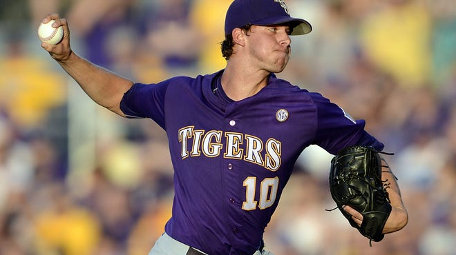 LSU pitcher Aaron Nola