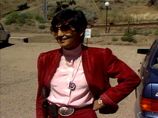 Ma Anand Sheela in Wild Wild Country.